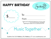 Give the gift of music for their Birthday!